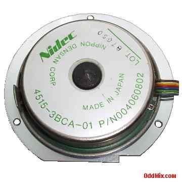 Electric Motor Dc Nidec 4515 3bca 01 P N004060802 Hard