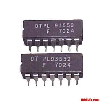 DTuL93559 Digital IC Fairchild DTL Diode Transistor Logic